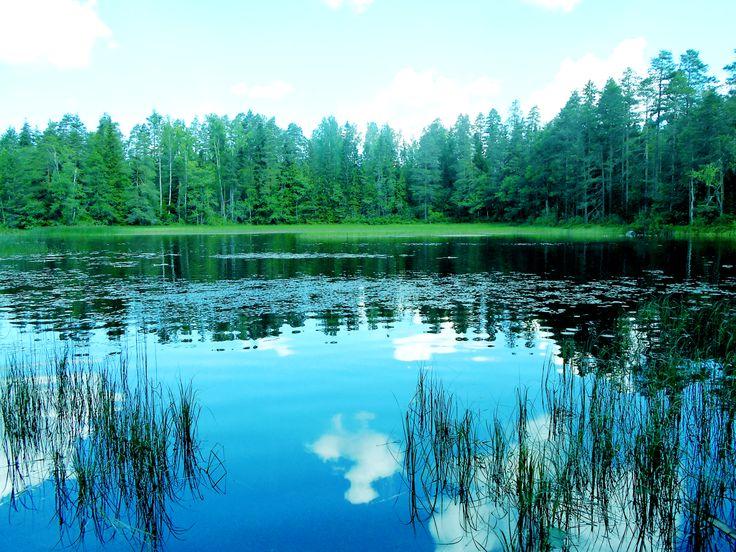Nature of Kouvola, Finland.