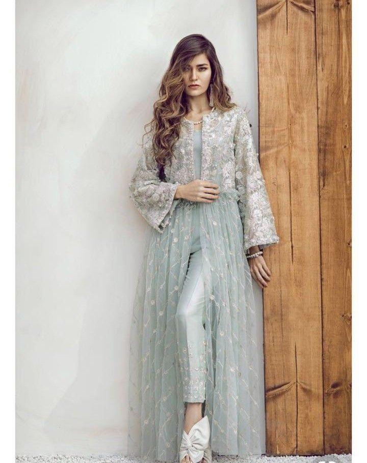 7d14ac445f52 Pin by Hfa on Desi wear in 2019   Dresses, Pakistani dresses, How to wear