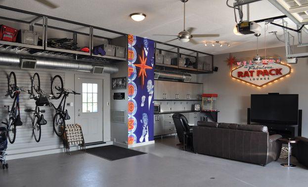 Garage ideas with tv best interior & furniture