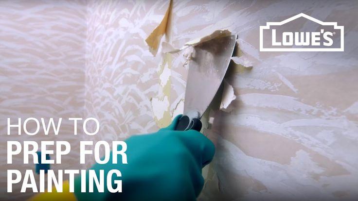Preparing Walls for Painting