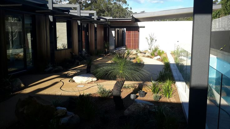 Zen Garden by SolidScapes| Graeme Bell, Trace Architects| build by CBD @ Dural, NSW