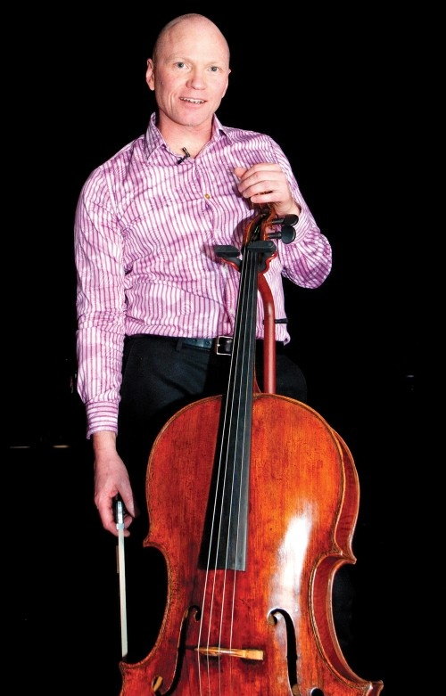 """Philip Hansen, Principal Cello: #CPO principal cellist since October 2004.#TheLosAngelesTimes praised him for his """"admirable virtuosity"""" and #theOregonian has noted his playing as both """"dazzling"""" and """"indefatigable."""""""