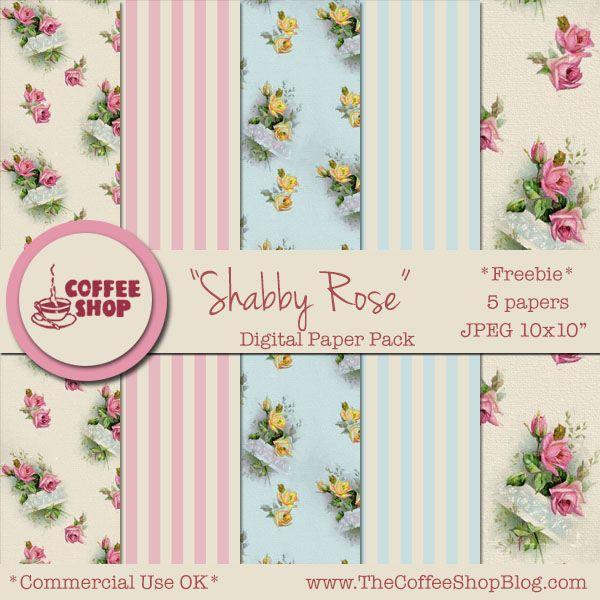417 Best Free Floral Paper Images On Pinterest