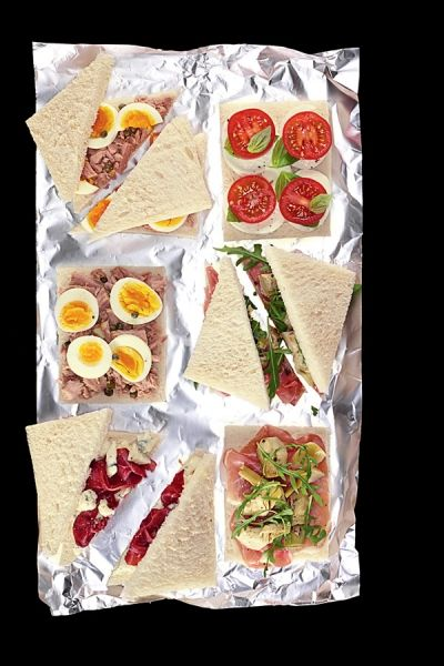 Tramezzini - Italiaanse sandwiches
