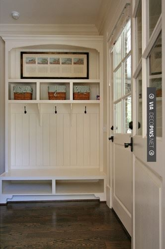 Awesome! - Mudroom Entry traditional entry | CHECK OUT MORE MUDROOM FURNITURE IDEAS AT DECOPINS.COM | #Mudrooms #mudroom #mud #mudroomfurniture #whatisamudroom #mudroombench #mudroomdecoration #mudroompaint #mudroomdesign #mudroomideas #mudroomlockers #mudroomstorage #mudroomcabinets #mudroomhooks #mudroomcubbies #mudroomcloset #mudroomshoestorage #mudroomcoatrack #mudroomlighting #smallmudroom #mudroomentry