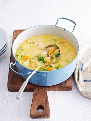 Gemüse-Hackfleisch-Suppe -  eatsmarter.de