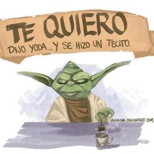 El amor según Yoda.