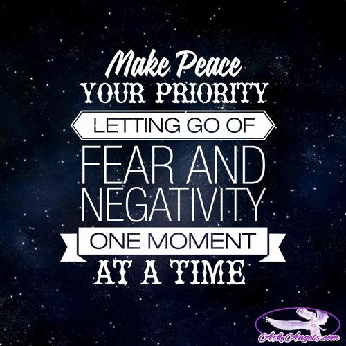 Make peace your priority letting go of fear and negativity... One moment at a time.  #peace https://video.buffer.com/v/57e8b0a3eab0eadb41068381