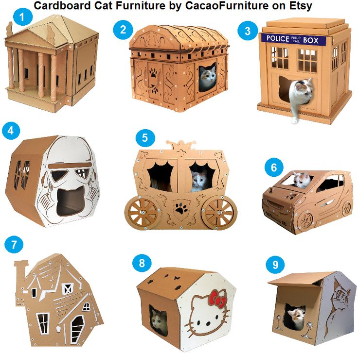 Cardboard Cat Furniture by CacaoFurniture http://www.floppycats.com/cardboard-cat-furniture-by-cacaofurniture.html