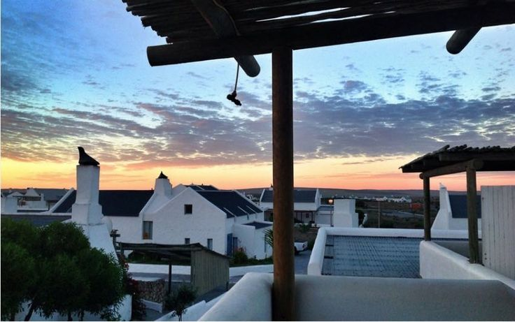 Seekat 2 in Paternoster, sleeps 4, modern double story unit ideal for honeymoons or anniversaries. #westcoast #southafrica