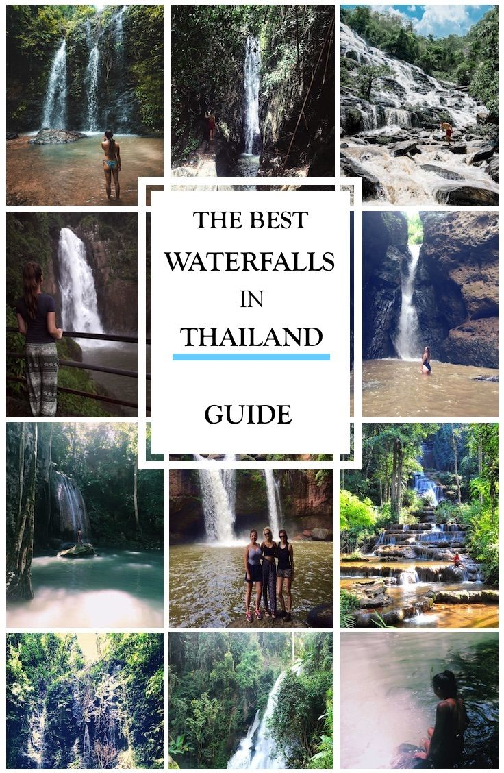 Guide: THE BEST WATERFALLS IN THAILAND