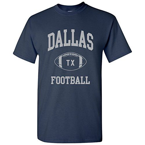 Dallas Classic Football Arch Basic Cotton T-Shirt - Large  61c4ae1e1