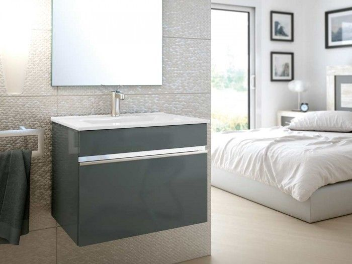 Awesome Websites Grey Cubo Cabinet u Basin