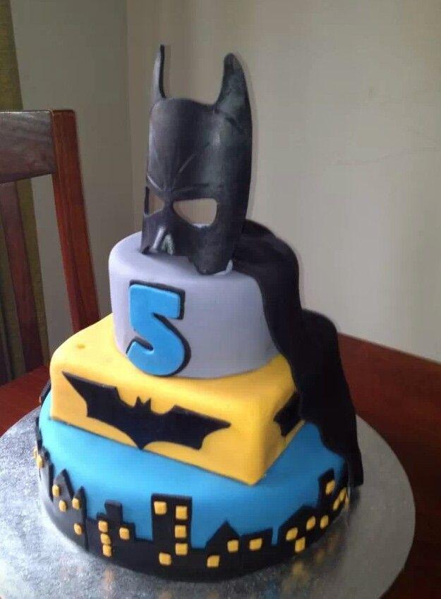 Great Boys Birthday Cake Idea Batman Kids Birthday