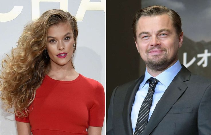 Leonardo DiCaprio & Nina Agdal - Dimitrios Kambouris/Getty Images for Michael Kors; Jun Sato/WireImage