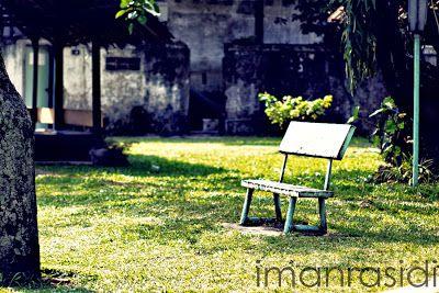 Lonely ~ Fotografi - Iman Rasidi