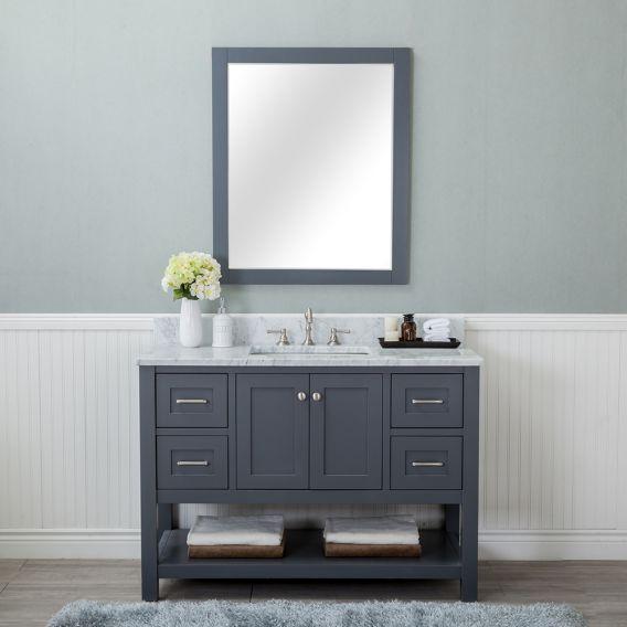 Marble Vanity Tops Single Bathroom, Bathroom Vanities With Tops Single Sink