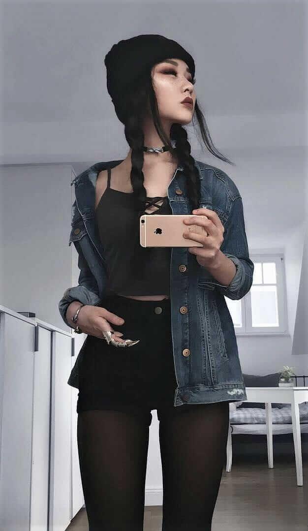 23 Cool Dark Grunge Outfit Ideas