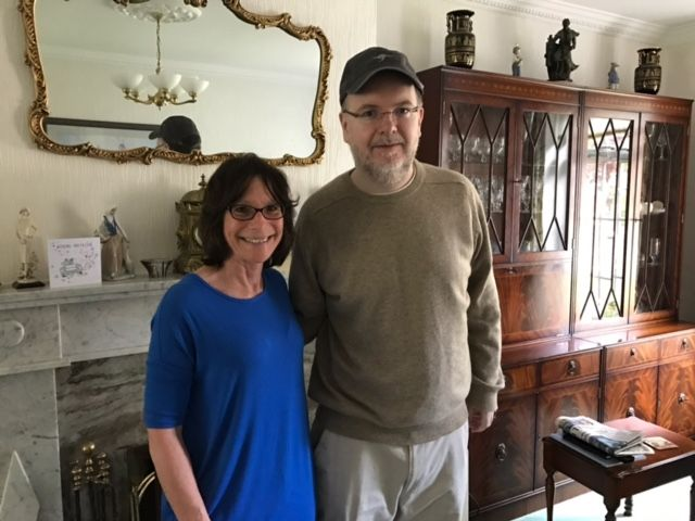 May 26: Meeting with Tom Kindlon in Ireland  Thanks to Open Medicine Foundation for this nice little write-up of Linda Tannenbaum's visit to my home last Friday during OMF's End ME/CFS Worldwide Tour.