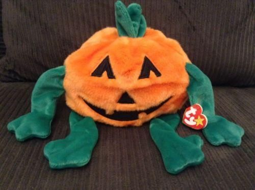 Ty Large Plush Beanie Buddy Pumkin' the Pumpkin Buddies