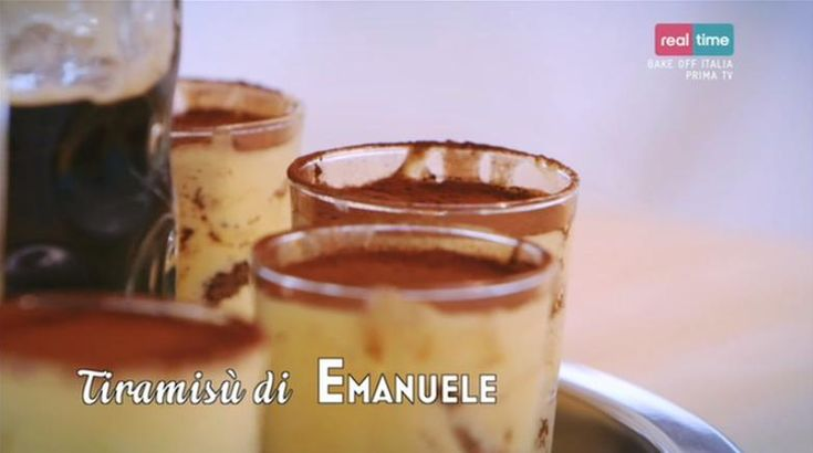 La ricetta del tiramisù alla birra di Emanuele del 6 dicembre 2013 - Bake Off…