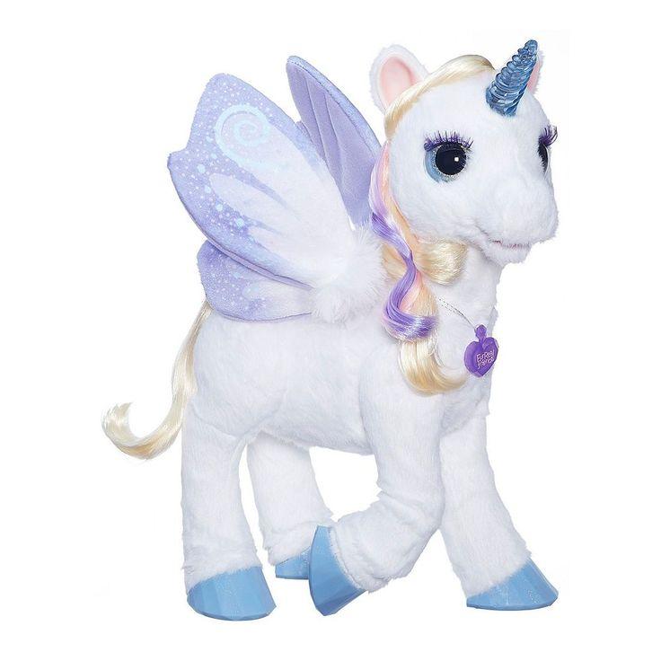 FurReal Friends StarLily My Magical Unicorn by Hasbro, Multicolor