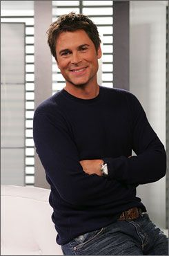 Rob Lowe--think I've had a crush on him for about my whole life :)