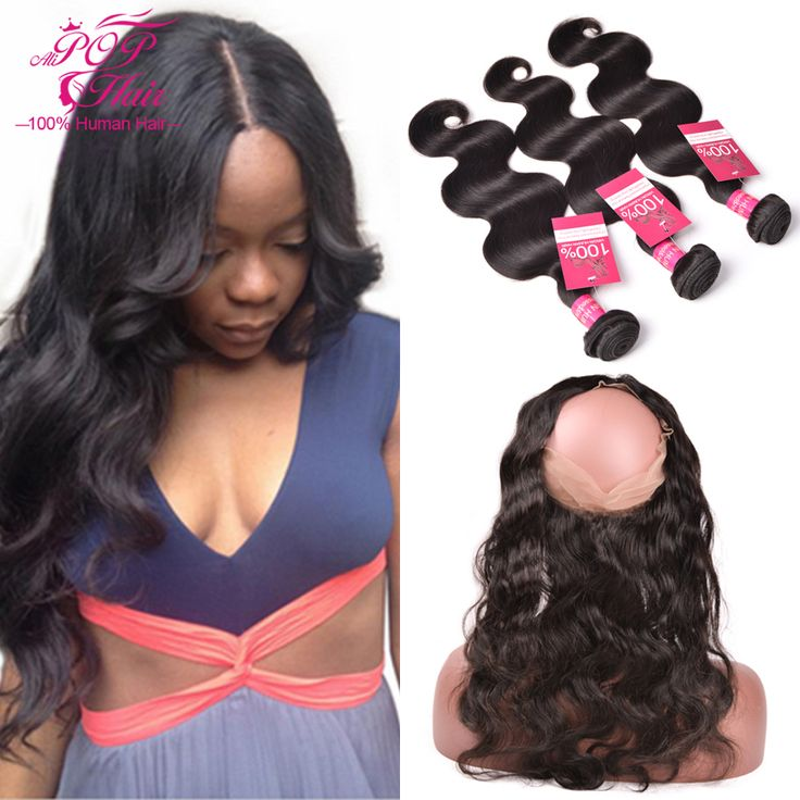 360 Lace Frontal Closure With Bundles Indian Virgin Hair With Lace Frontal Closure,360 Lace Frontal With Bundle Human Hair Weave ** Details can be found by clicking on the image.