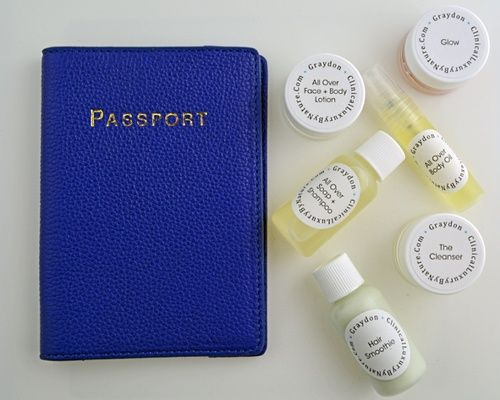 Graydon travel kit | Best all-natural beauty products to take while you travel