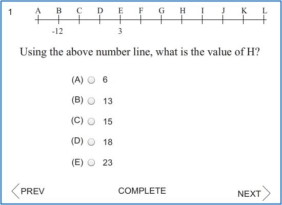SAT Math Blast 21 Number Line Problems All Levels A ten – Sat Math Prep Worksheets