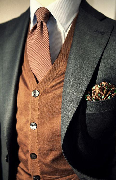 Style For Men - Vest, Tie & Pocket Square