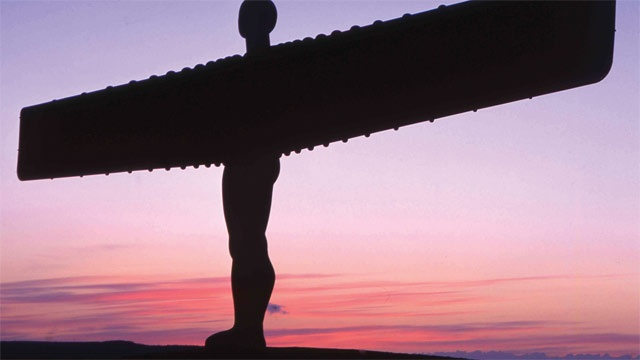 Angel of the North - Contemporary sculpture located in Gateshead
