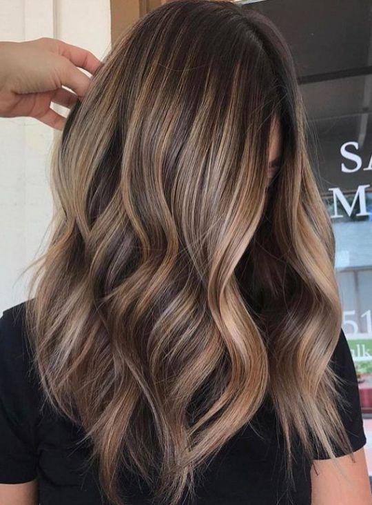 Colors Fall Hair Highlights 50 Highlighting Pinterest Fall