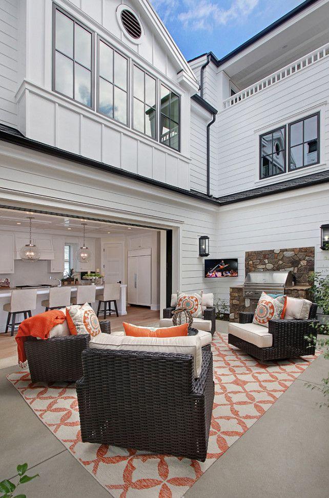 Outdoor Living Area Ideas #OutdoorLivingAreas #OutdoorLivingRoom