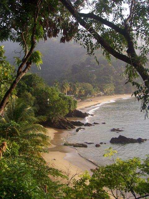 Wir ankern in einsamen Buchten, in glasklarem Wasser, schwimmen, schnorcheln, tauchen Castara Bay - Castara, Tobago- Trinidad and Tobago