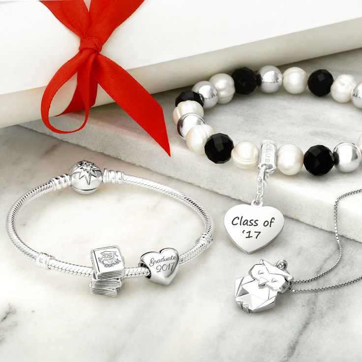 Class of 2017 & Wise Owl Graduation personalised Gifts from John Greed, PANDORA and Thomas Sabo! FREE engraving on all graduation jewellery and gifts > http://jgj.im/2u8SOVR