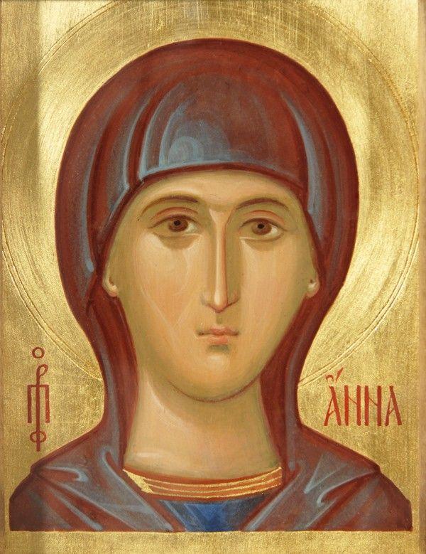 Icon of St Ann the Prophetess