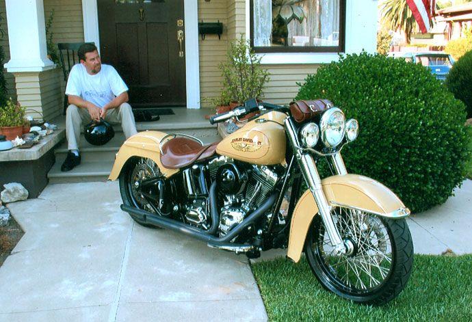 Derek Anderson's 2008 Harley Deluxe