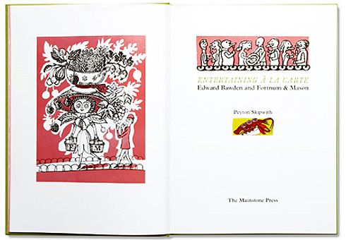 Entertaining a la carte: Edward Bawden and Fortnum & Mason. One for the wish list!