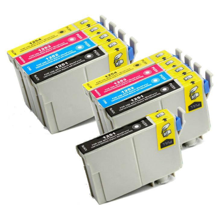 Buy T125 Series Ink Cartridge 9PK - 3B/2CMY for Epson at Houseofinks.com. We offer to save 30-70% on ink and toner cartridges. 100% Satisfaction Guarantee.