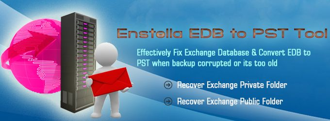 Enstella EDB to PST tool gives you best opportunity to repair inaccessible EDB file and import Exchange to Outlook.