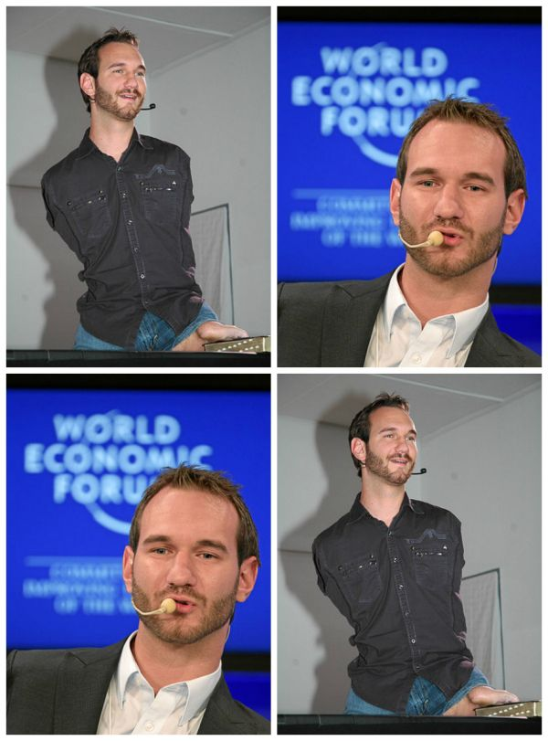 meet nick vujicic the man with no limbs
