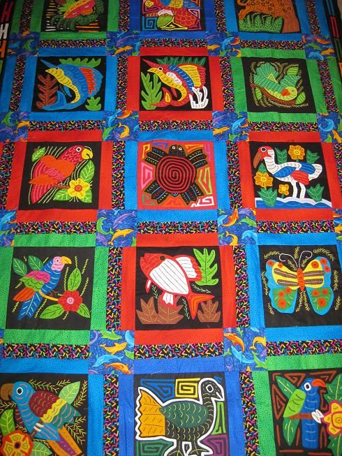 rainforest animal molas