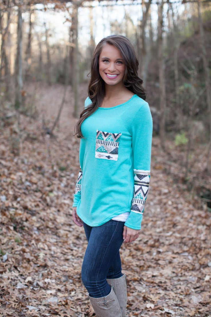The Pink Lily Boutique - The Lucky One Sequin Blouse Mint, $39.00 (http://thepinklilyboutique.com/the-lucky-one-sequin-blouse-mint/)