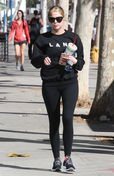 Ashley Benson Photos Photos - 'Pretty Little Liars' actress and model Ashley Benson was spotted at the gym in West Hollywood, California on February 8, 2016.  She recently had an interview discussing the next season of 'Pretty Little Liars' saying that it will be something very different. (Ocean Drive) - Ashley Benson Heads to the Gym in WeHo