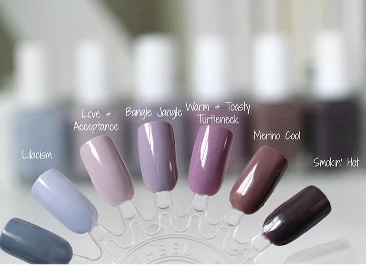 Top 10 Nail Polish Colors 2017 Papillon Day Spa