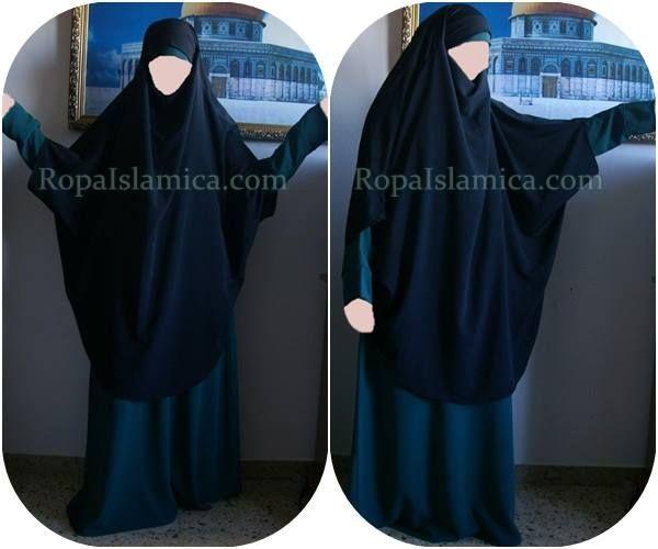 Khimar Asia (sin puños) 19.90€ Abaya Khaira 23€