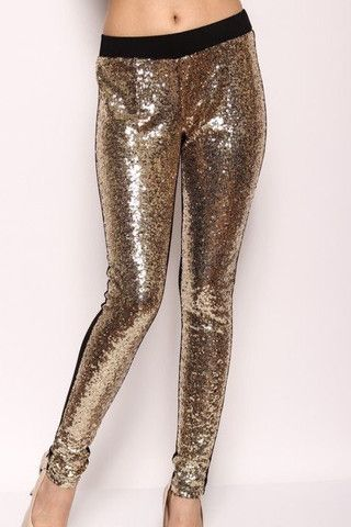 All that Glitters Gold Leggings – The Happy Goose Shop