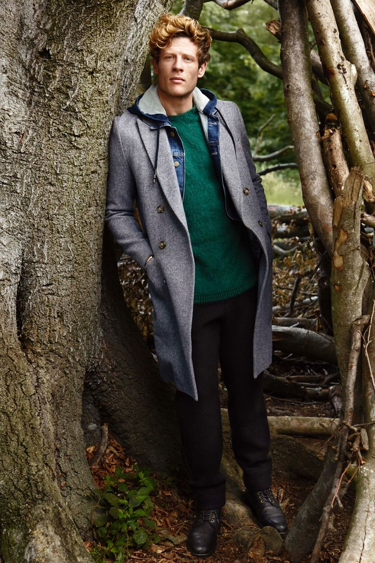 Men's Fashion: James Norton models the season's coats – in pictures