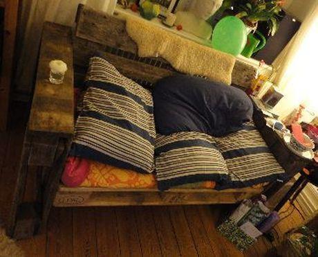 Súper sofá de palets